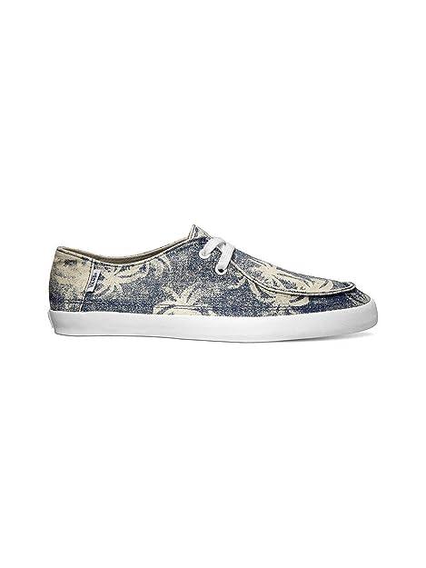 e9396e68af Vans Mens Rata Vulc Surf Sneakers Hawaiian Palm Tree Print Denim   Amazon.ca  Shoes   Handbags