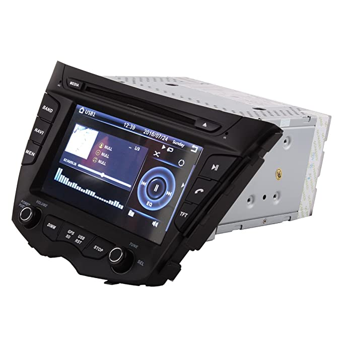 Amazon.com: 7 Inch Touch Screen Car GPS Navigation for HYUNDAI VELOSTER 2011-2016 Stereo DVD Player Video Radio Audio Bluetooth Steering Wheel Control AUX ...