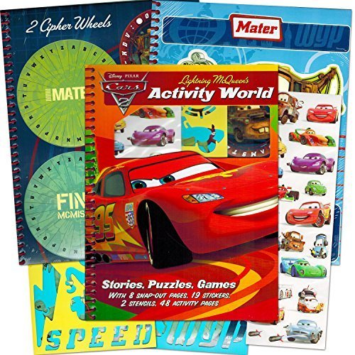 Disney Cars Art (Disney/Pixar CARS Coloring Book with Stickers
