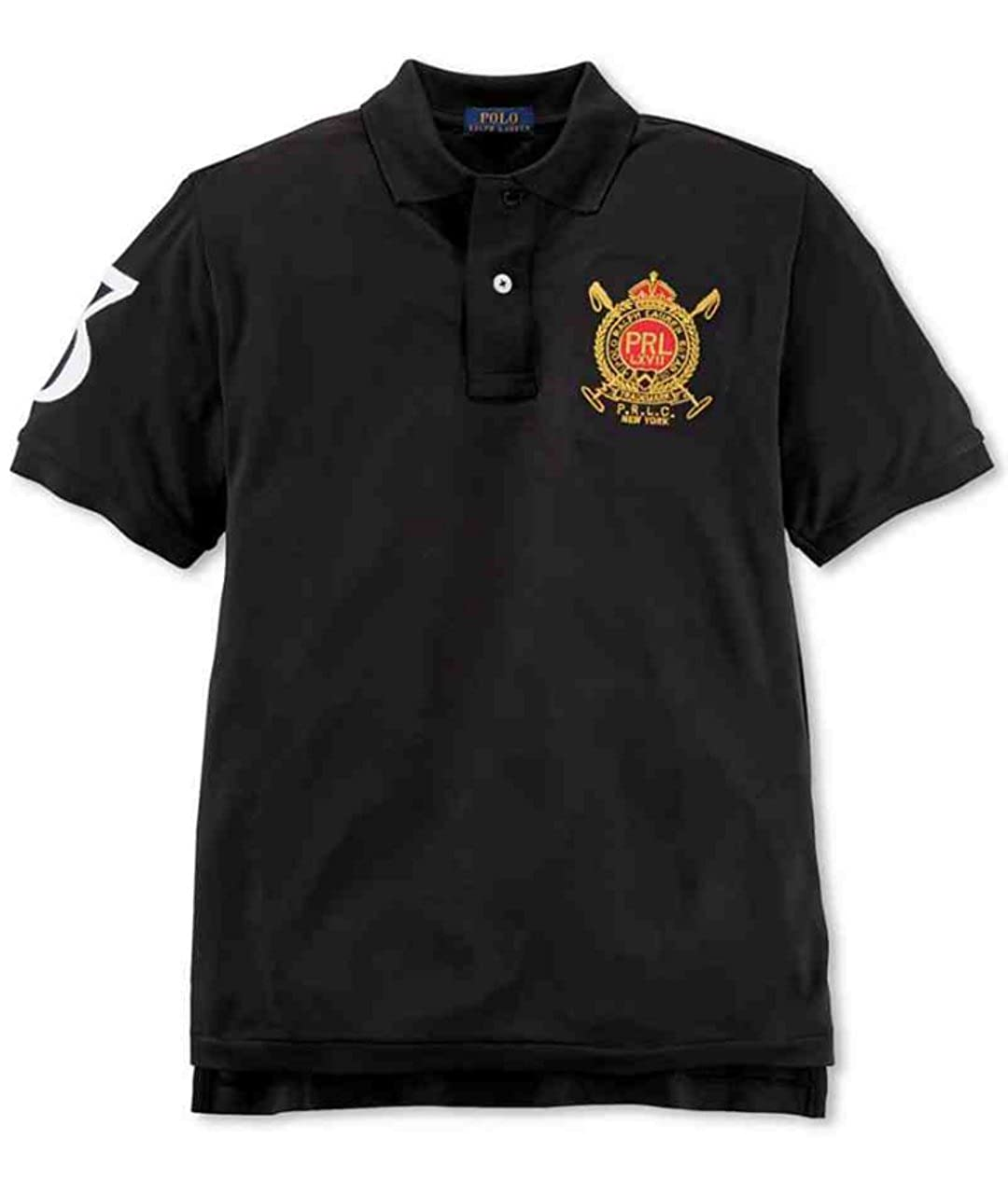 Ralph Lauren Boys Crested Black Polo Shirt 2 2T