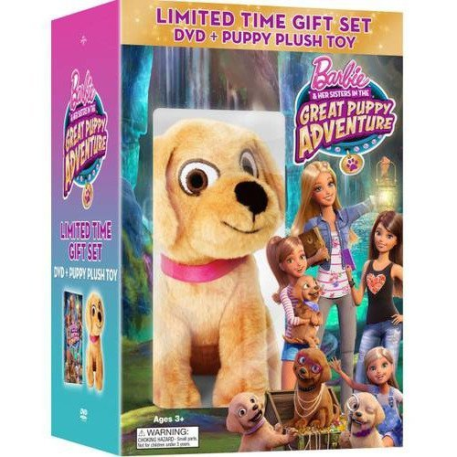 Barbie & Her Sisters in the Great Puppy Adventure DVD - 2
