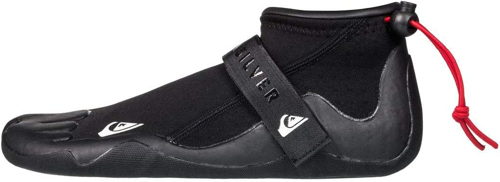 Quiksilver Mens 2Mm Syncro Round Toe Reef Surf Boots for Men Round Toe Reef Surf Boots