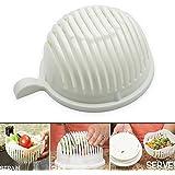 Makone 60 Seconds Salad Maker Bowl Cutter Slicer Easy to Make Healthy Fresh Salad Slicers