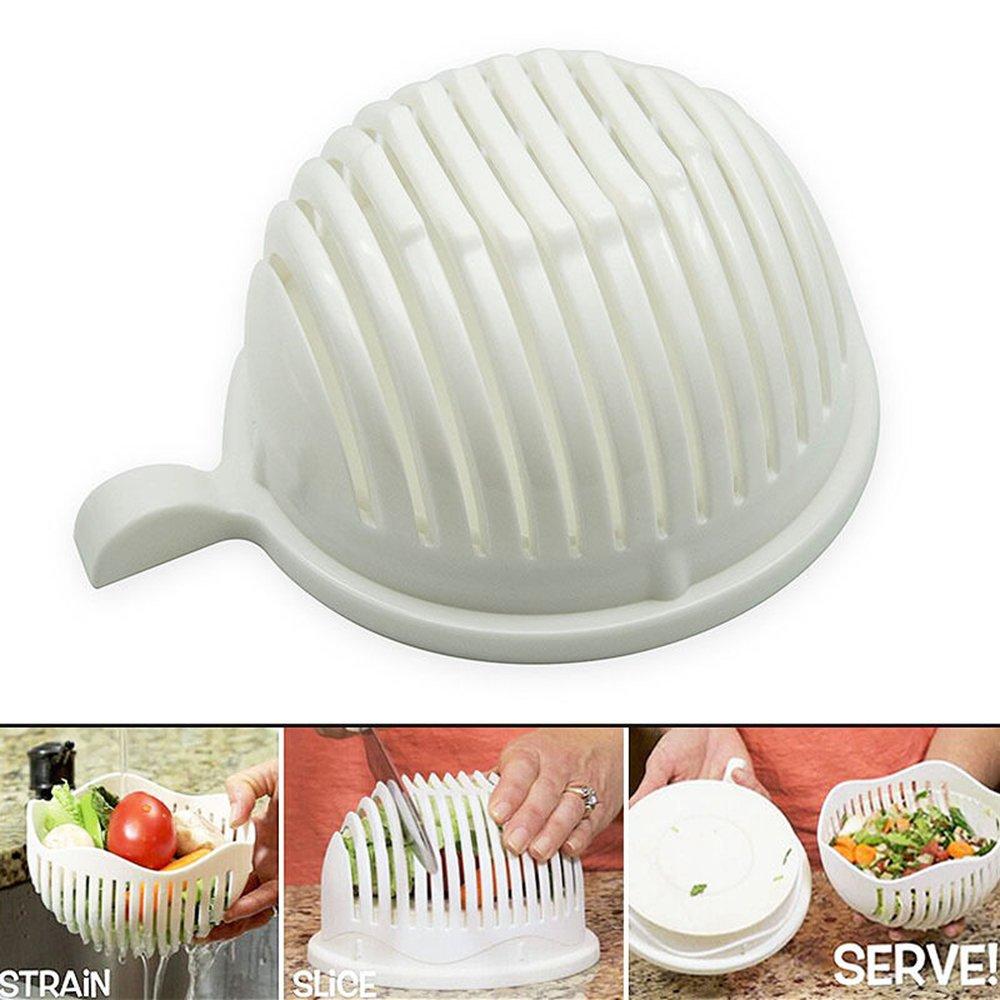 Couteaux Et Ustensiles De Cuisine Maknoe 60 Seconds Salade Maker Coupe Couteau Trancheur Facile A Faire Healthy Fresh Salad Slicers Cuisine Maison Hotelaomori Co Jp