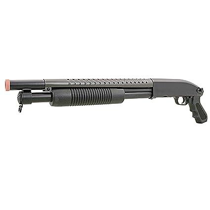 BBTac Airsoft Pump Action Shotgun Rifle 400 FPS Police