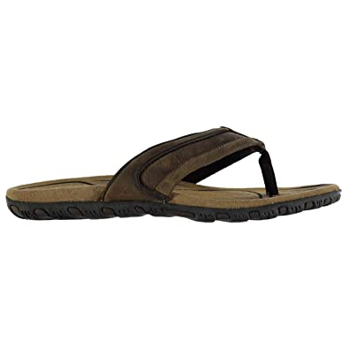 Karrimor Mens Lounge Flip Flop Leather Strap Summer Toe Post Beach
