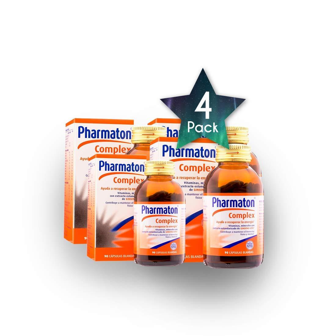 Amazon.com: 4 Pack PHARMATON Complex 90 Caps – Health Care ...