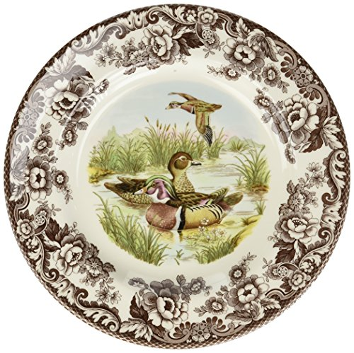 - Spode Woodland Wood Duck Dinner Plate