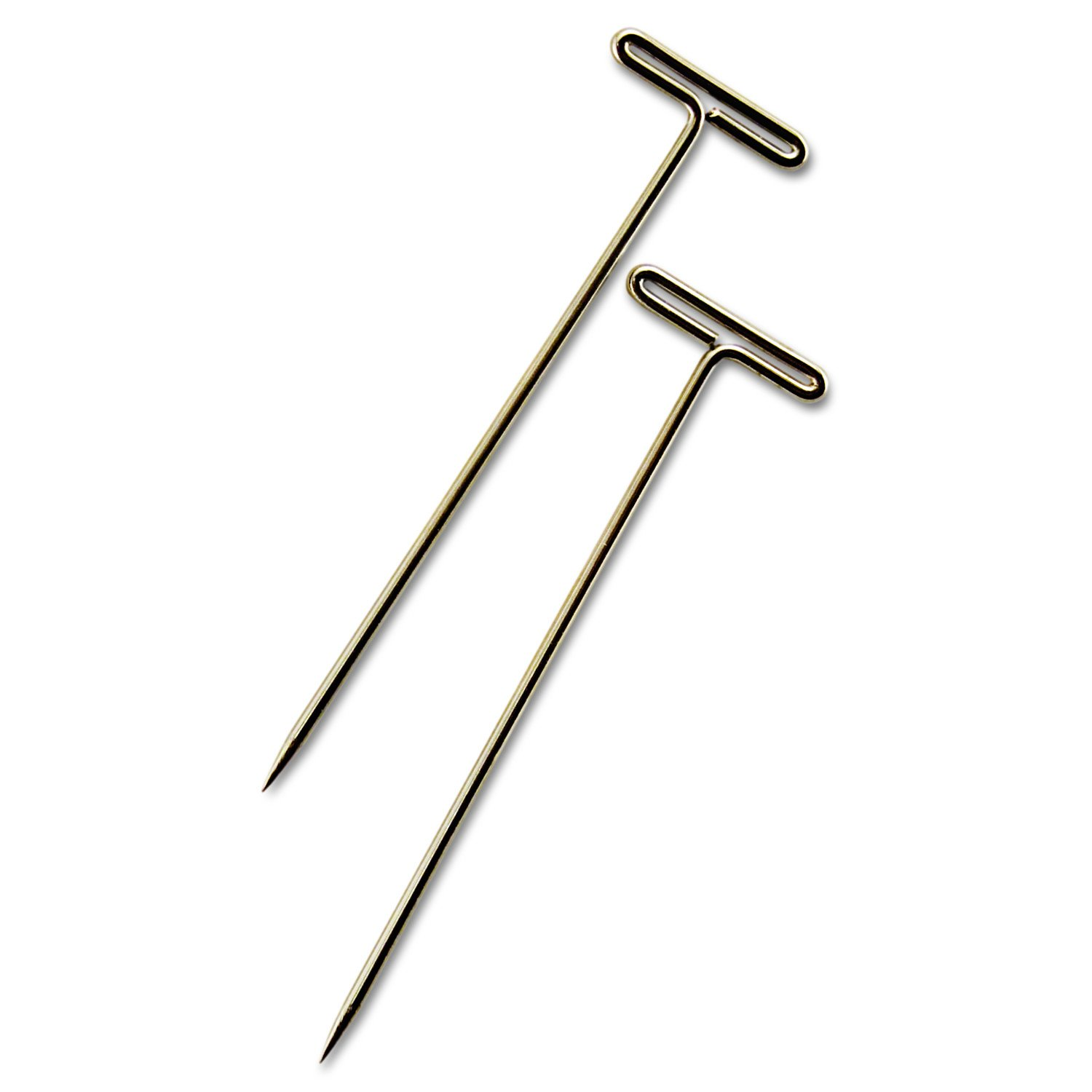 ADVANTUS Gem 1.5-Inch T-Pins, 100 per Box (87T)