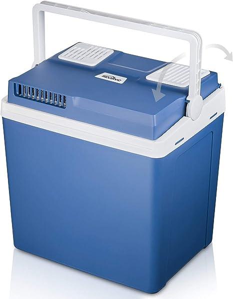 Kealive Elektrische Kühlbox Thermoelektrische Kühlbox Mit Kühl Und Warmhaltefunktion 25 Liter 12 V Für Auto Und Lkw Baumarkt