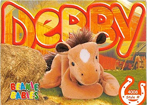 Derby Horse trading card Beanie Babies 1999 TY #4008