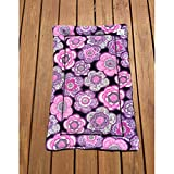 Floral Dog Bed Crate Bedding Couch Pad for Cats Cover Chair Cushion Kennel Pad Fits 24x36 Crate