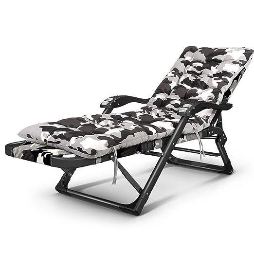 JU FU Tumbona Silla reclinable Plegable de 40X20mm de Tubo ...
