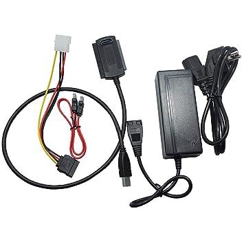Socialism SI11 Uso Duradero USB 3.0 a SATA IDE 3.5 Pulgadas 2.5 ...