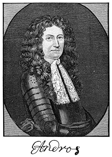 Posterazzi GLP469052LARGE Poster Print Collection Edmund Andros (1637-1714)./British Colonial Governor In America. Wood Engraving. Poster Print By, (24 X 36), Multicolored