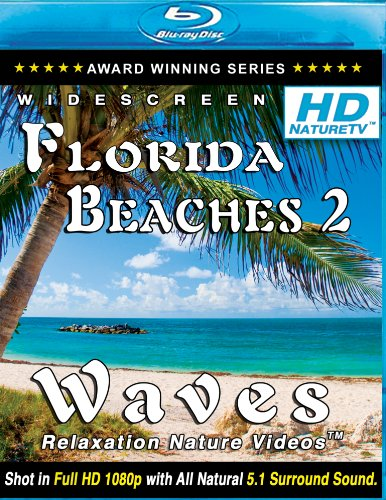 HD Florida Beaches 2 / Waves Relaxation Nature Videos [Blu-ray]