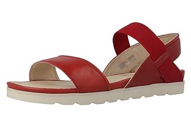 Josef Seibel Damen Sandaletten Fabia 01 Rot