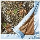 "Carstens Mossy Oak Camo Baby Blanket, 34"" x 34"""