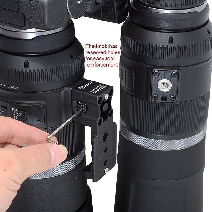 Ishoot Objektivmanschette Ersatzfuß Stativhalterung Kamera