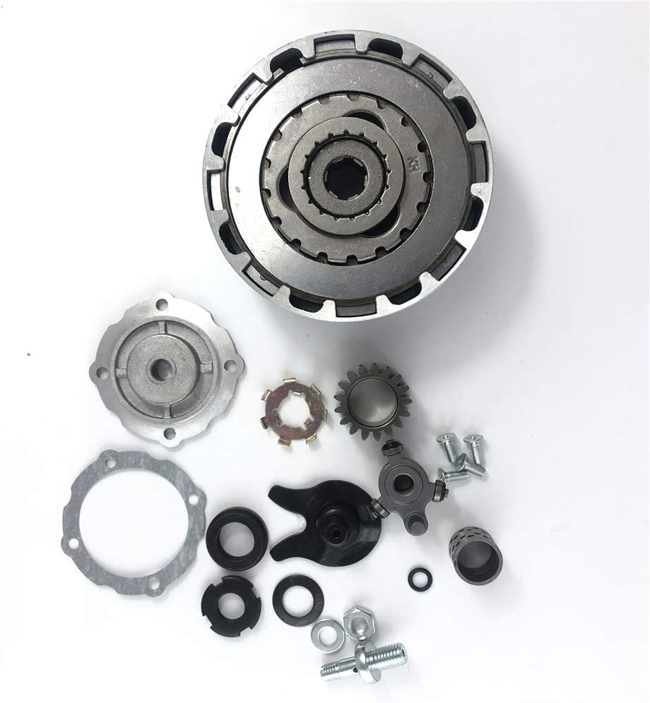 Automatic Clutch Complete Assembly 17T for 100cc 110cc Chinese ATV Quad Bike