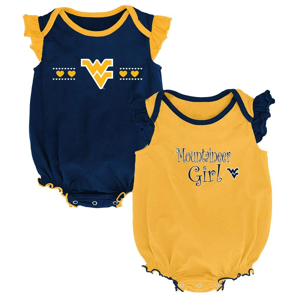 Outerstuff LSU Tigers Louisiana State Creeper 2 Pack Homecoming Bodysuit Set
