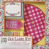 Meri Meri Jar Label Kit, Floral and Gingham