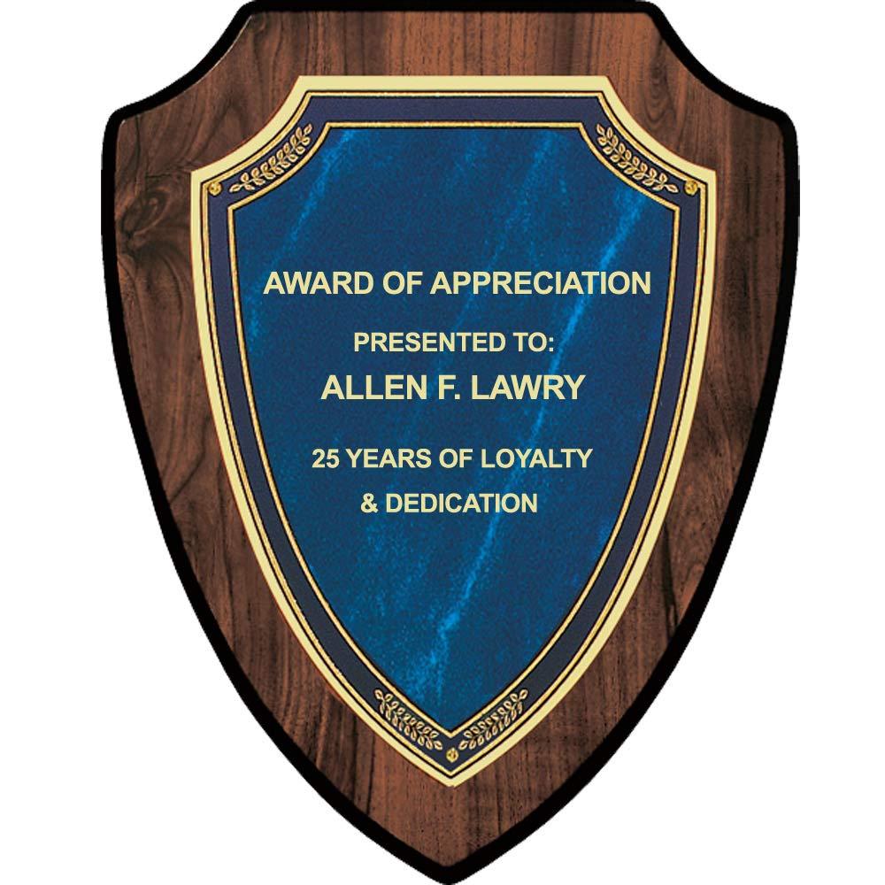 DINN BROS. Custom Presentation Plaque, Employee Appreciation Award, Free Engraving by DINN BROS.