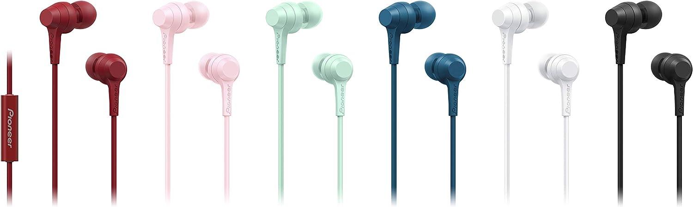 Pioneer C1 In Ear Kopfhörer Mit Inline Fernbedienung Computer Zubehör