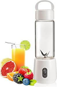 ChirRay Portable Juicer Electric USB Rechargeable Blender 5100mAh Mixer Cup Maker fast