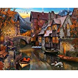 Autumn Canal Jigsaw Puzzle 1000 Puzzle