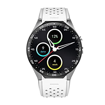 Amazon.com: Teepao KW88 3G Smart Watch WIFI Smartwatch Cell ...
