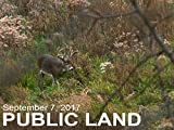 "September 7 - Public Land: Scouting the ""Buck Nest"""