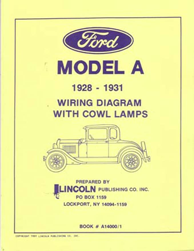 Amazon.com: bishko automotive literature - Electrical Wiring Diagrams  Schematics Manual for The 1928 1929 1930 1931 Ford Model A: AutomotiveAmazon.com