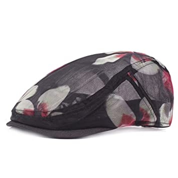 Wy-Bufanda Visera de Malla de Sombrero de Rejilla de Malla Transpirable  Primavera y Verano 872217df66c