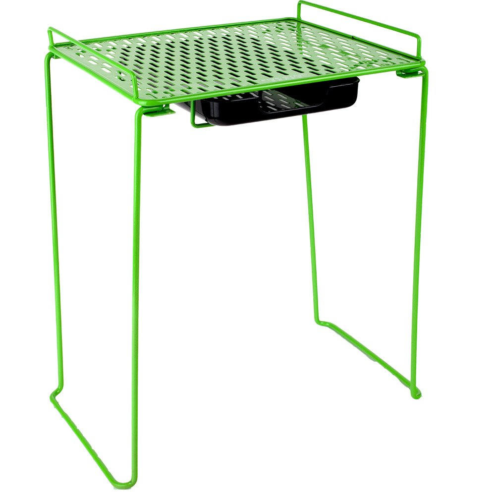 Five Star Locker Accessories, Locker Shelf and Drawer, Extra Tall 14'', Holds up to 100 lbs. Fits 12'' Width Lockers, Lime (38232)