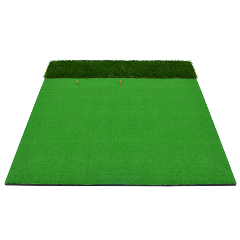 Golf Putting Mat 1.5m1.5m Indoor / Outdoor Double Grass Practice Blanket