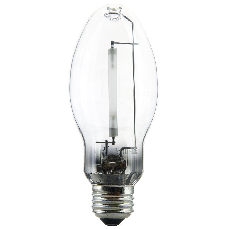 Sunlite 03610-SU LU70/MED 70 Watt HPS ED17 High Pressure Sodium Light Bulb, Medium Base, Clear