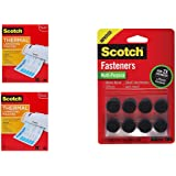 Scotch Thermal Laminating Pouches 74PCH1, 8.9 x 11.4 -Inches, 3 mil Thick, 200-Pack w Bonus Fasteners Dots
