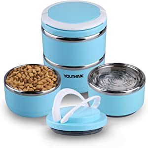 2497c334d7db Pet Supplies : The JDP Co. Travel Dog Food Container with Detachable ...