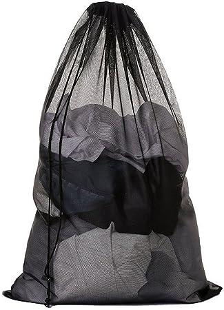 Intimo e Vestiti Borse di Lavaggio 60 x 90 cm 2 Pezzi Sacchetto di Lavaggio Coulisse Sacco della Biancheria Grandi Borsa della Lavanderia per camiceria Calze Samione Sacchetti per Lavatrice