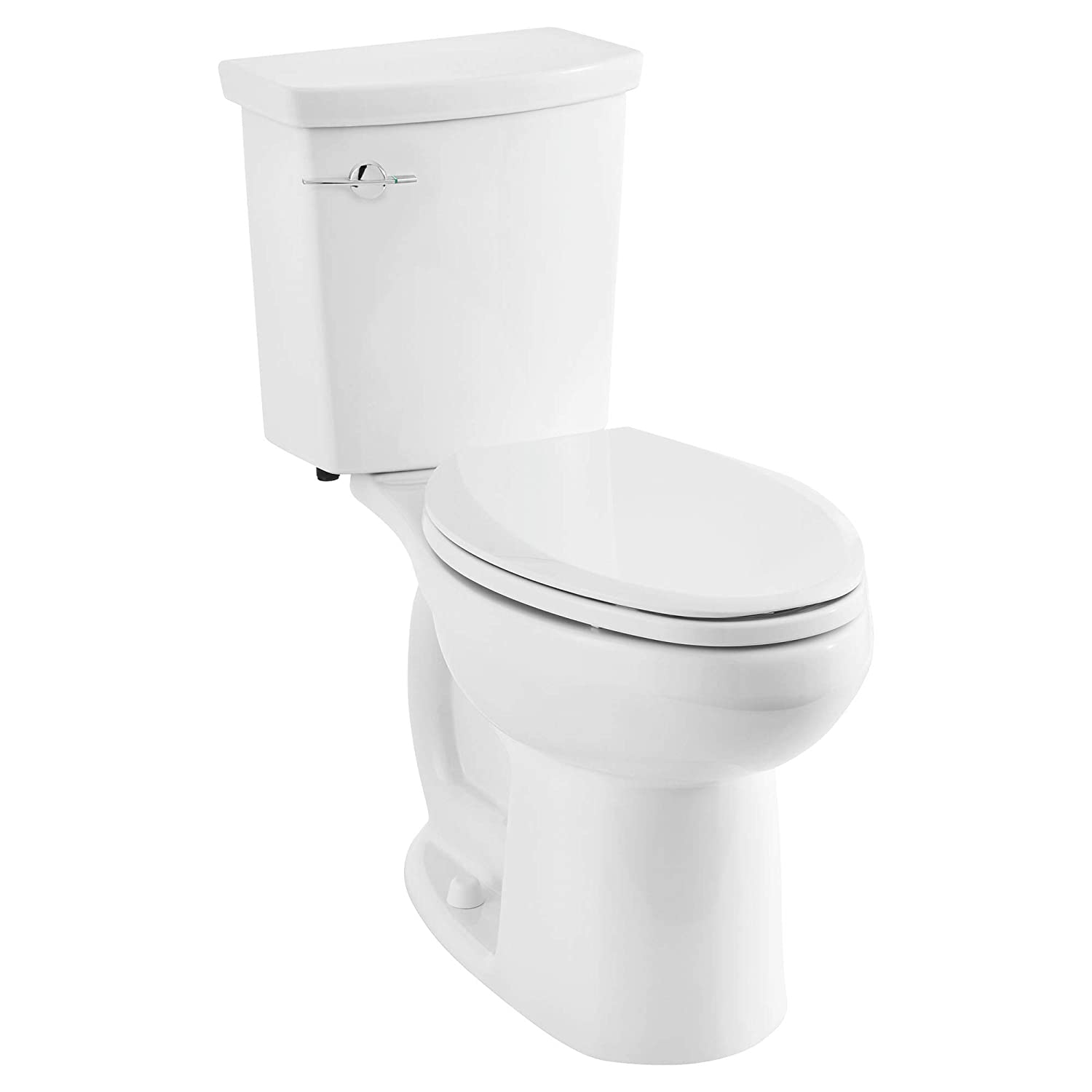 H2Option 2886204.020 ADA Dual Flush Right Height Elongated Toilet - Left Hand Trip Lever