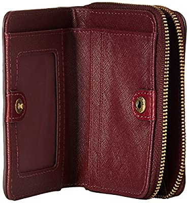 Fossil Emma Rfid Mini Multifunction Cabernet Wallet