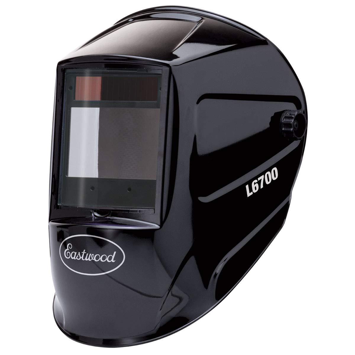 Eastwood Large View Auto Darkening Welding Helmet Mask Kit Adjustable Headband Comfortable - L6700
