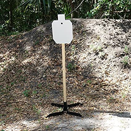 Amazoncom 23 Ipsc 38 Ar500 Steel Target 2x4 Angled