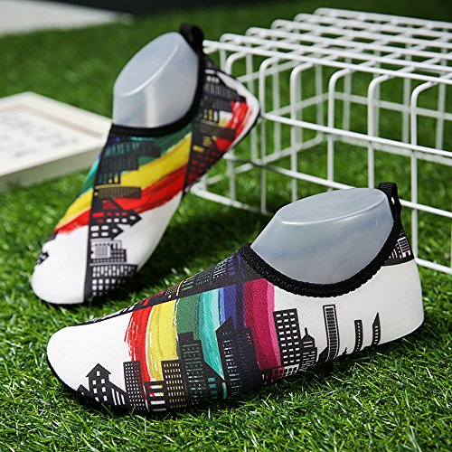 Shoes Beach ,Farjing Shoes Sale Water Outdoor Aqua Swim Socks Surf Clearance Mens Exercise Yoga White Summer Womens Shoes Pwx8EPqrR