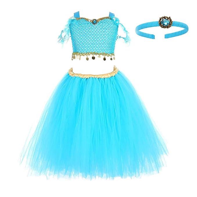 Amazon.com: Ainiel Disfraz de princesa para niñas para ...