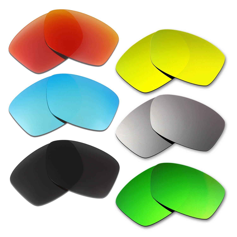 Hkuco 交換用レンズ Oakley Jupiter Squared マルチオプション型偏光  レッド/ブルー/ブラック/ゴールデン/チタンカラー/グリーン B01LAPJFY0