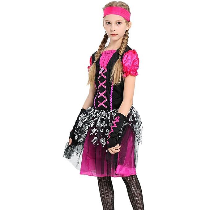 Amazon.com: Mangka - Disfraz de Halloween para niña con ...