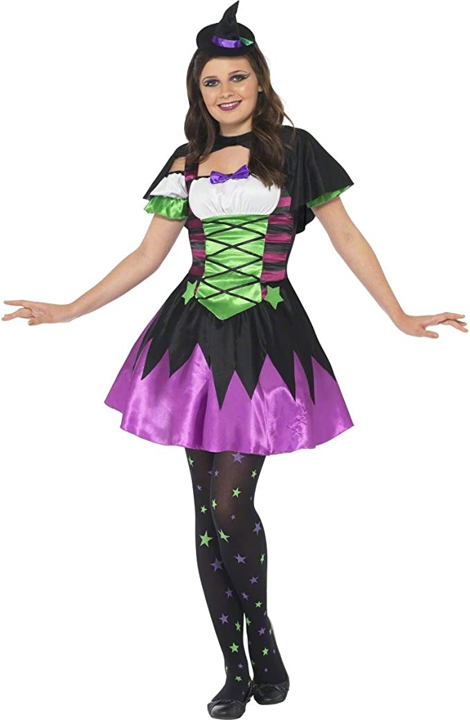 Punky Teen Witch Costume (disfraz): Amazon.es: Juguetes y juegos