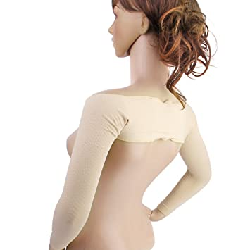 d8bf8e154a Yeah67886 Seamless Slimming Arm Shaping Long Sleeves Shaper (Skin Color)